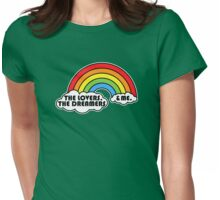 Rainbow Connection Womens Fitted T-Shirt
