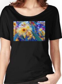 Vibrant Gum Blossoms Women's Relaxed Fit T-Shirt