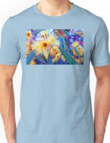 Vibrant Gum Blossoms Unisex T-Shirt