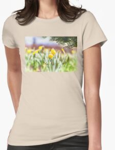 Field of Daffodils Womens Fitted T-Shirt