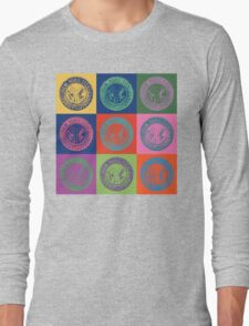New York City Transit Authority retro design Long Sleeve T-Shirt