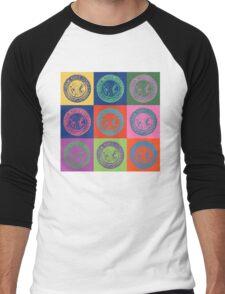 New York City Transit Authority retro design Men's Baseball ¾ T-Shirt