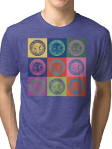 New York City Transit Authority retro design Tri-blend T-Shirt