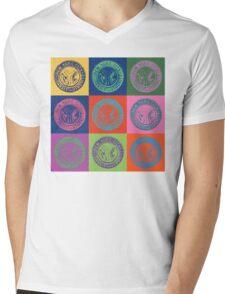New York City Transit Authority retro design Mens V-Neck T-Shirt