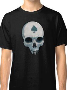 Vampire Skull, Ace of Spades Classic T-Shirt