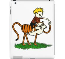 calvin and hobbes66 iPad Case/Skin