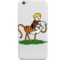 calvin and hobbes66 iPhone Case/Skin