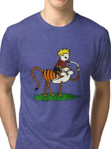 calvin and hobbes66 Tri-blend T-Shirt
