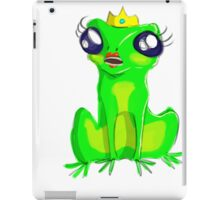 Frog Princess iPad Case/Skin