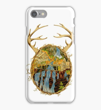 Stained Glass Rivendell iPhone Case/Skin