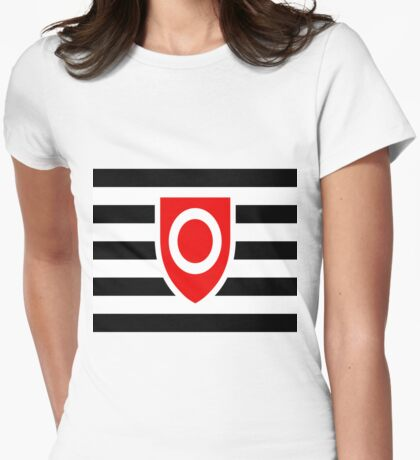 OwnerShip Pride Flag Womens Fitted T-Shirt