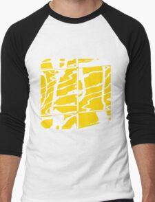 City Reflection (4)  Men's Baseball ¾ T-Shirt