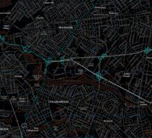 USGS TOPO Map New Jersey NJ Camden 20110502 TM Inverted Sticker