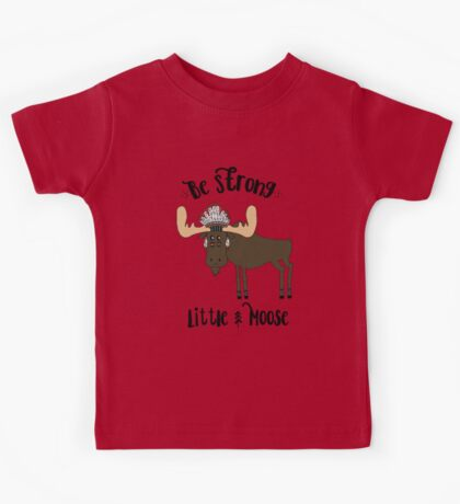 Woodland Moose Kids Tee