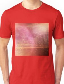 Ocean sunset glow Unisex T-Shirt