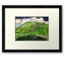 ingleborough Framed Print