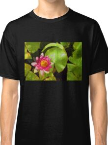 Pretty in Pink - a Waterlily Impression Classic T-Shirt