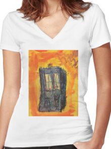 All the time in the world Women's Fitted V-Neck T-Shirt