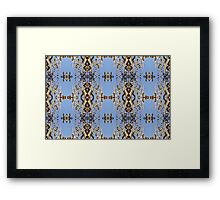 Weeping Gum Repeat Framed Print