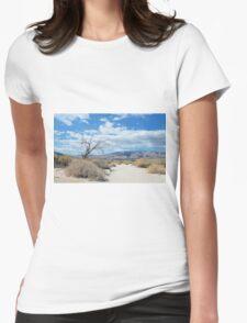 Desert Womens Fitted T-Shirt