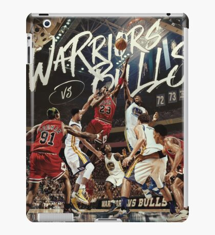 Chicago Golden State Sports Basketball Art iPad Case/Skin