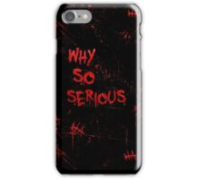 The Joker - Why So Serious Design iPhone Case/Skin