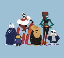 Undertale cartoon style Kids Tee