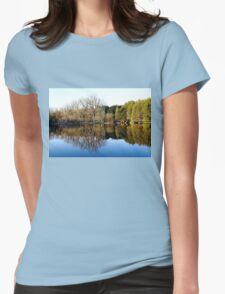 Evening Reflections Womens Fitted T-Shirt