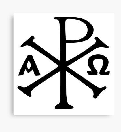CHI RHO Canvas Print