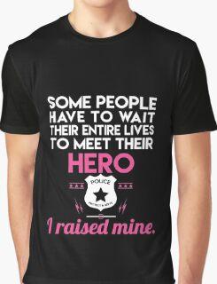 Hero police Graphic T-Shirt