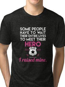 Hero police Tri-blend T-Shirt