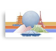 EPCOT Center Inspired Design  Canvas Print