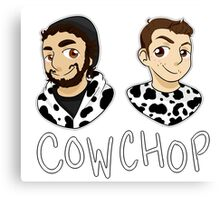 Cow Chop Canvas Print
