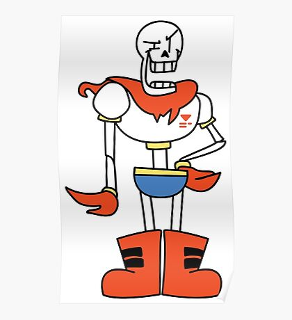 Papyrus cartoon style Poster