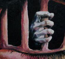 Window to the Imprisoned Soul Sticker