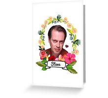 The glory of Steve Greeting Card