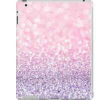 Pink and Lavender Glitter  iPad Case/Skin