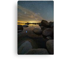 Orion Setting Canvas Print