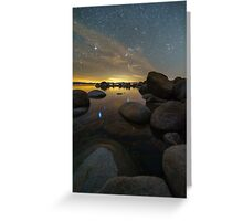 Orion Setting Greeting Card