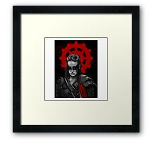 Lexa The Commander  Framed Print