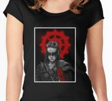 Lexa The Commander  Women's Fitted Scoop T-Shirt