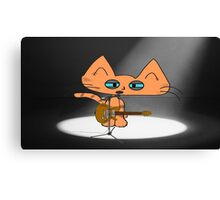 Rock Star Cat Canvas Print
