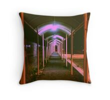 Walkway Composition Throw Pillow