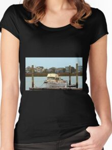 Rusty Old Boat Women's Fitted Scoop T-Shirt