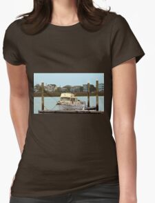 Rusty Old Boat Womens Fitted T-Shirt
