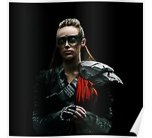 Commander Lexa The 100Lexa The 100 Poster