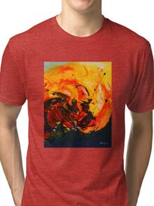 abstract clouds 10 Tri-blend T-Shirt