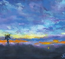 After the Storm (pastel) by Niki Hilsabeck