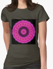 Pink Profusion Womens Fitted T-Shirt