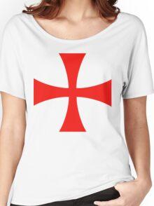 Templar cross Women's Relaxed Fit T-Shirt